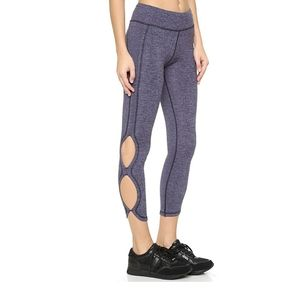 Free People Movement Infinity Leggings Navy Blue